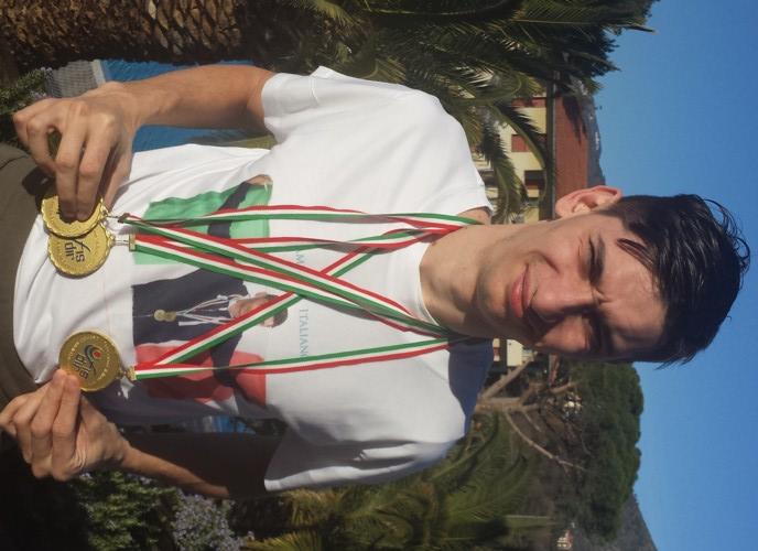 Marco Scafidi medaglie